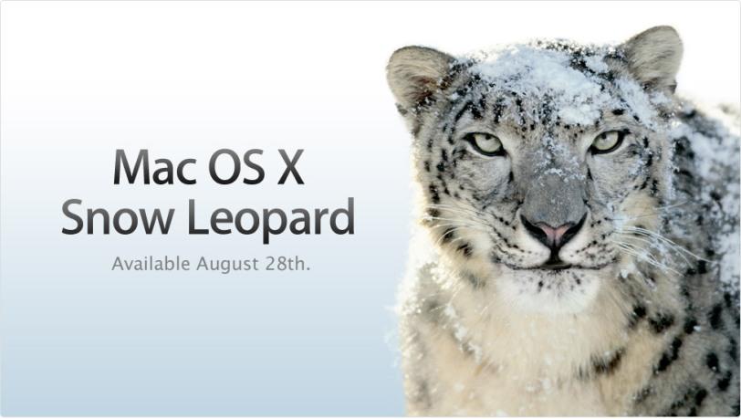 Mac OSX Snow Leopard Launch Date