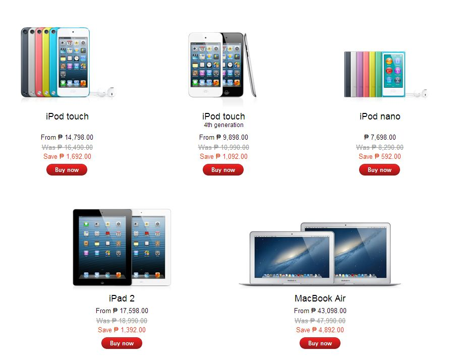Apple Online Store Philippines Black Friday SALE Pricelist ...