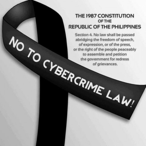 No to Cybercrime Law
