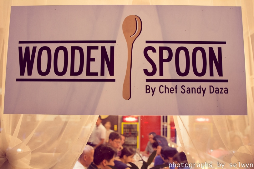Wooden Spoon by Chef Sandy Daza
