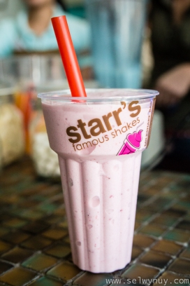 Starr Strawberry Milkshake