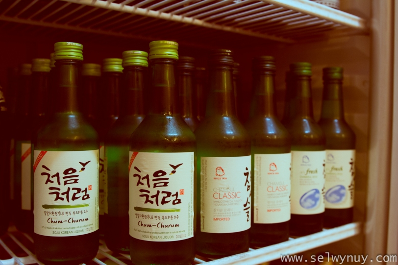 Korean Soju in Manila
