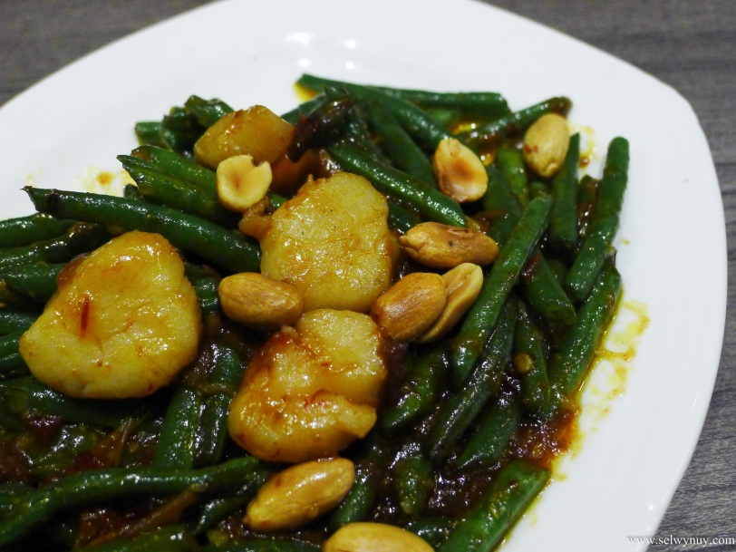 Fried French Bean (Sitaw) with Scallop in XO Sauce